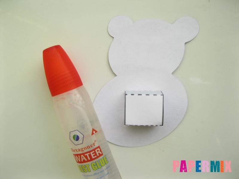 Как сделать объемную бегемота из бумаги по шаблону - шаг 6