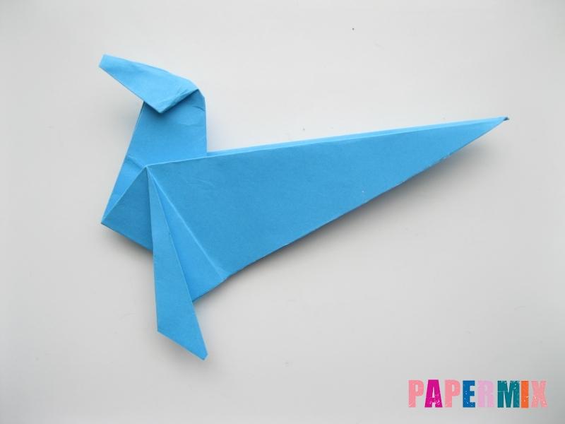 Как сделать оленя из бумаги (оригами) поэтапно - шаг 12