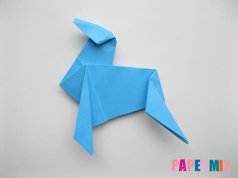 Как сделать оленя из бумаги (оригами) поэтапно - шаг 14