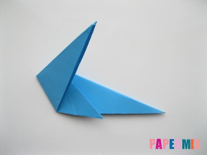 Как сделать оленя из бумаги (оригами) поэтапно - шаг 6