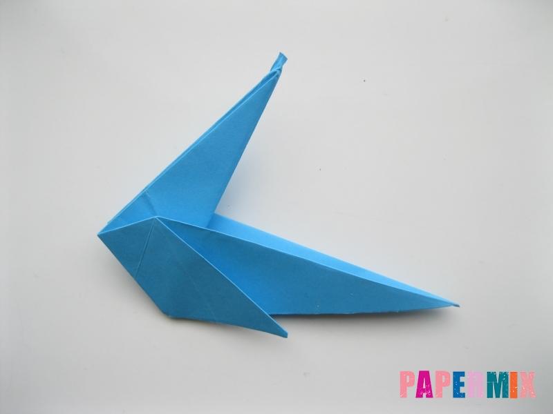 Как сделать оленя из бумаги (оригами) поэтапно - шаг 7
