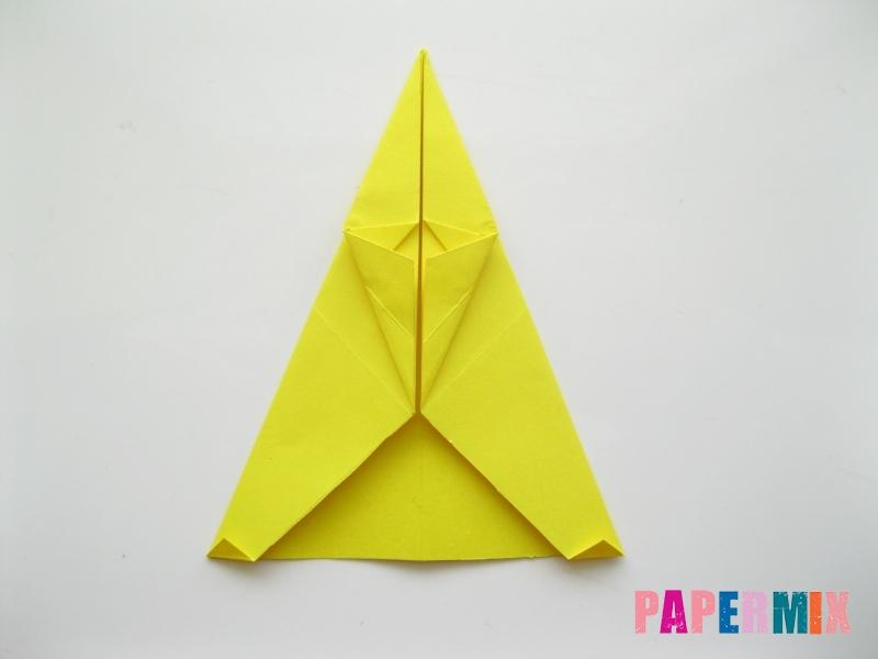 Как сделать овчарку из бумаги (оригами) поэтапно - шаг 10