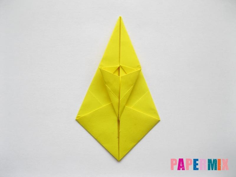 Как сделать овчарку из бумаги (оригами) поэтапно - шаг 11