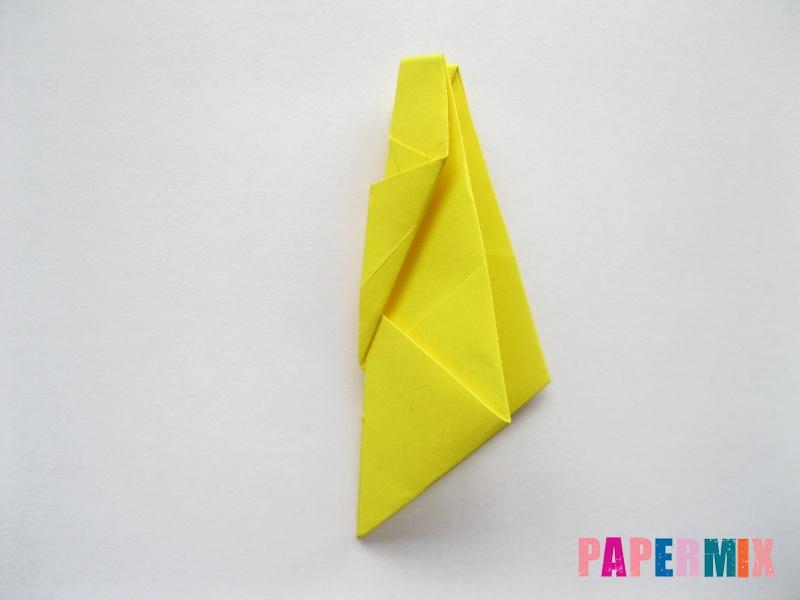 Как сделать овчарку из бумаги (оригами) поэтапно - шаг 13