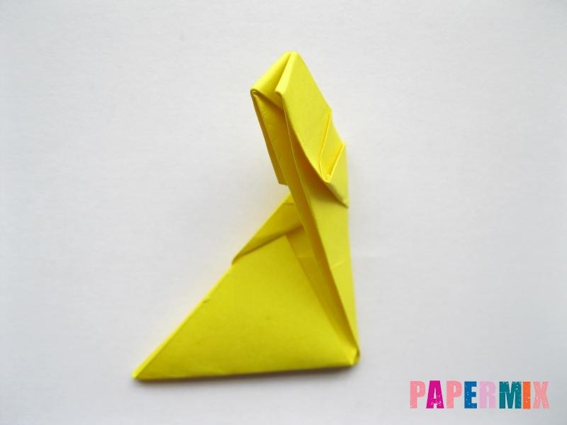 Как сделать овчарку из бумаги (оригами) поэтапно - шаг 14