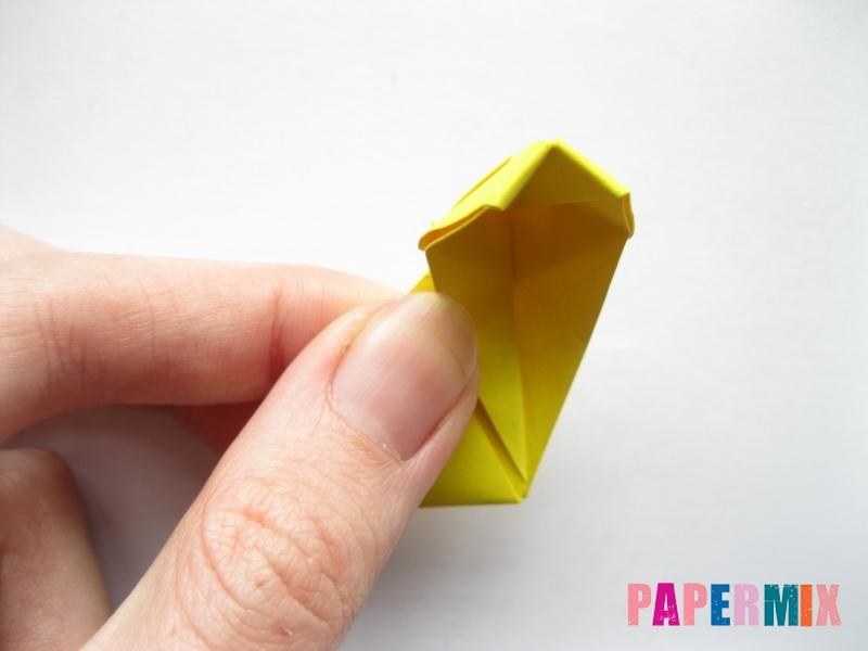 Как сделать овчарку из бумаги (оригами) поэтапно - шаг 15