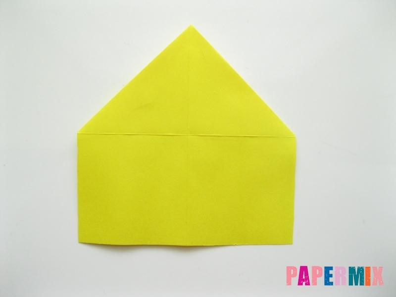 Как сделать овчарку из бумаги (оригами) поэтапно - шаг 8