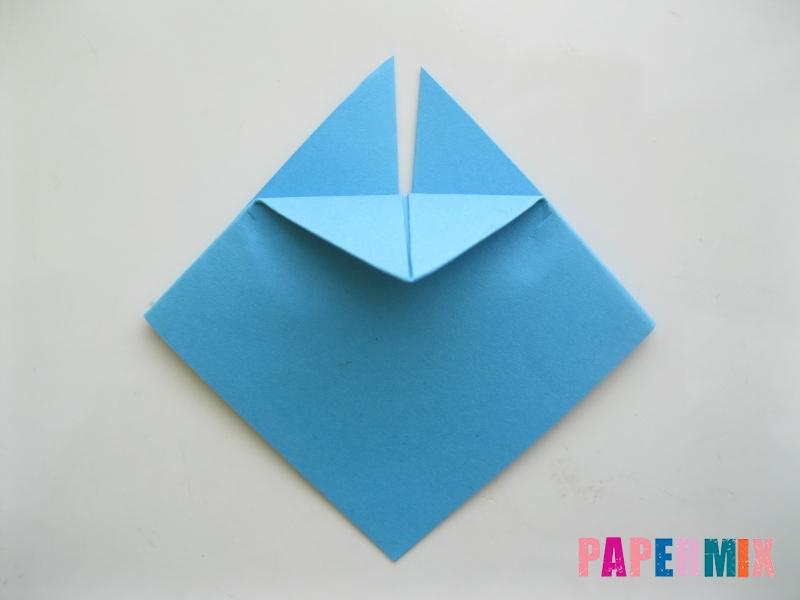 Как сделать пасхального зайца из бумаги поэтапно - шаг 4