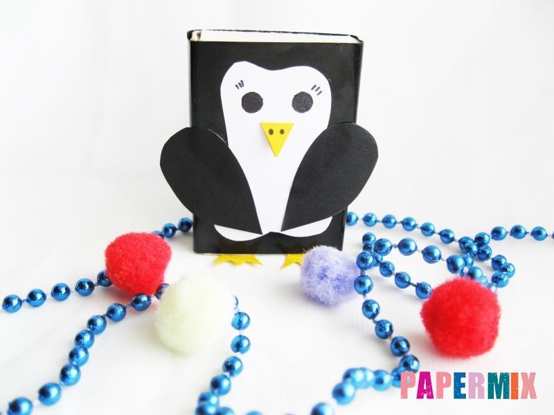 Как сделать пингвина из спичечного коробка инструкция - шаг 11