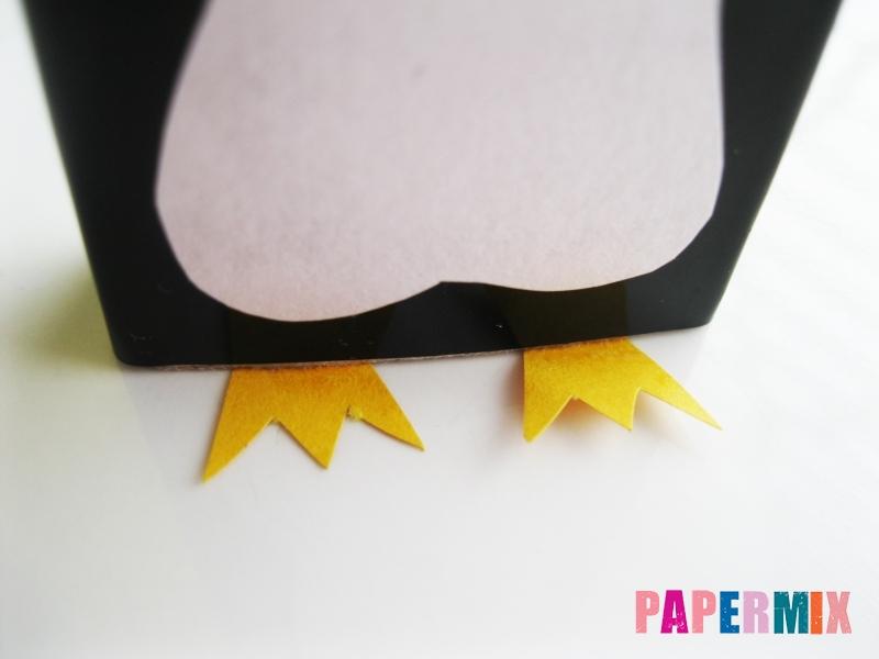 Как сделать пингвина из спичечного коробка инструкция - шаг 8