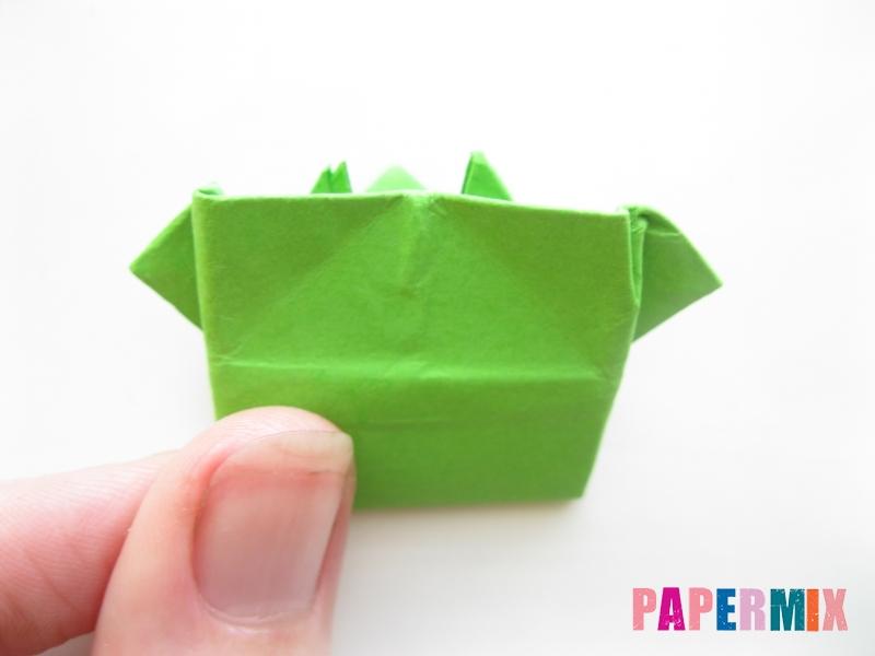 Как сделать прыгающую лягушку из бумаги своими руками - шаг 15