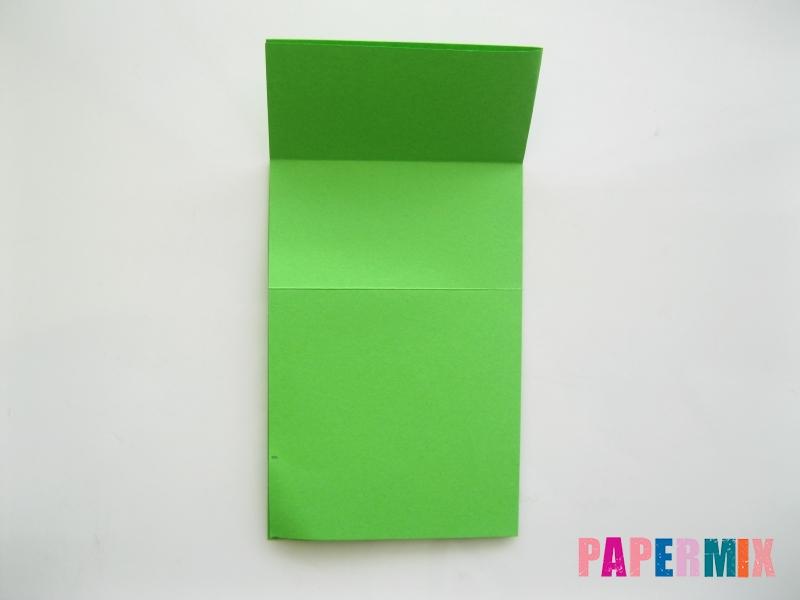 Как сделать прыгающую лягушку из бумаги своими руками - шаг 4