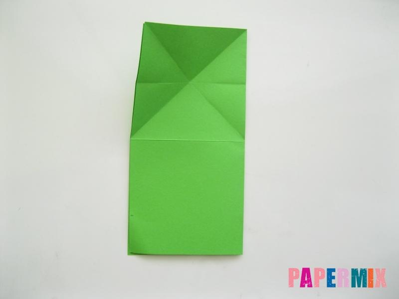 Как сделать прыгающую лягушку из бумаги своими руками - шаг 6