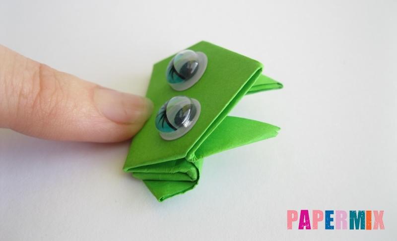 Как сделать прыгающую лягушку из бумаги своими руками