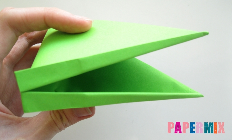 Как сделать открывающиеся рот лягушки из бумаги своими руками