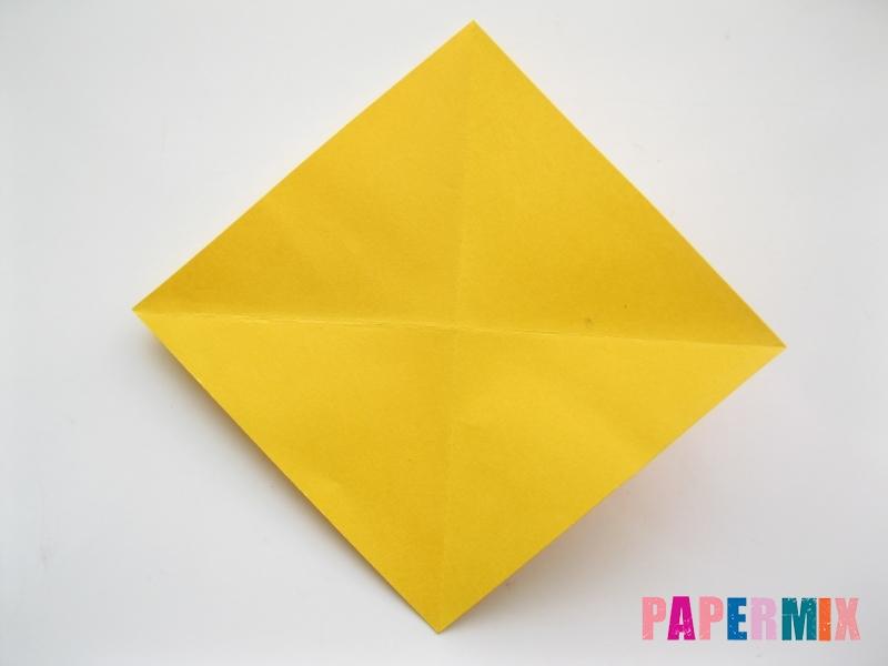 Как сделать рыбку из бумаги поэтапно - шаг 3