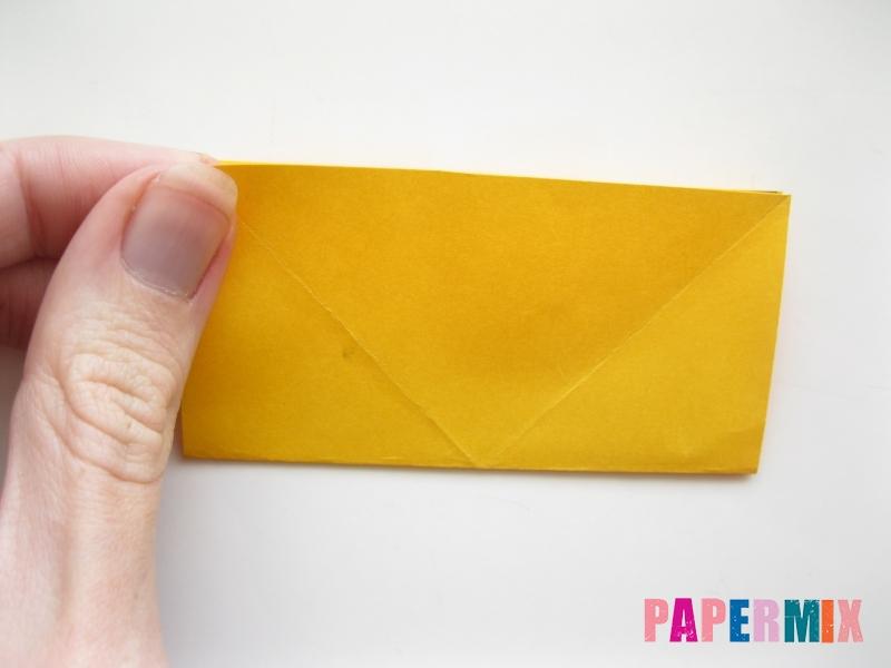 Как сделать рыбку из бумаги поэтапно - шаг 4