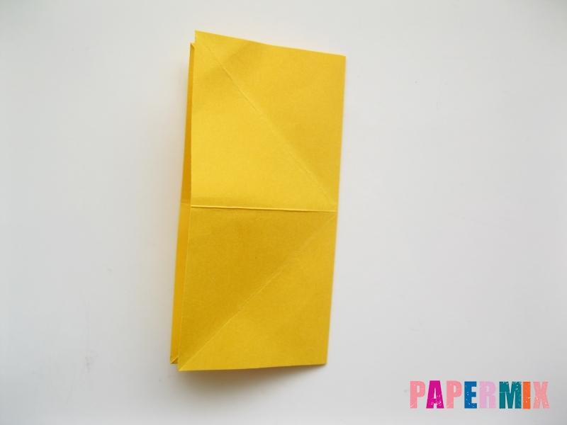 Как сделать рыбку из бумаги поэтапно - шаг 6