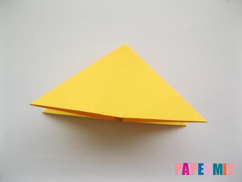 Как сделать рыбку из бумаги поэтапно - шаг 9