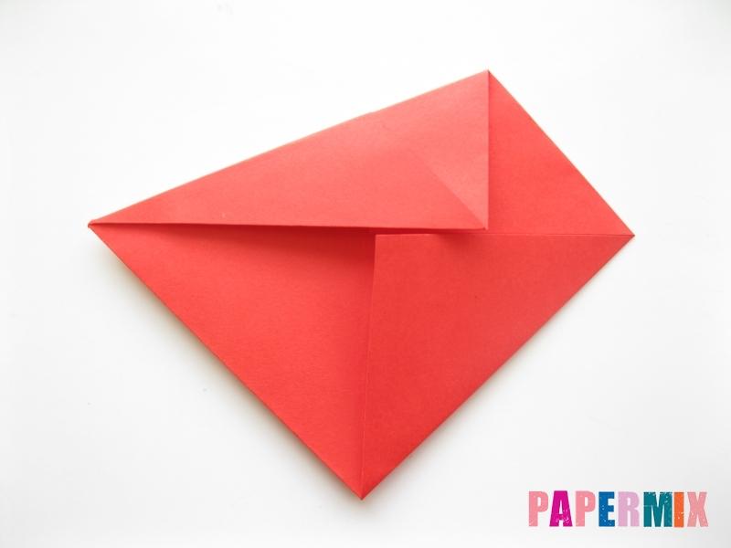 Как сделать рыбу из бумаги (оригами) инструкция - шаг 5