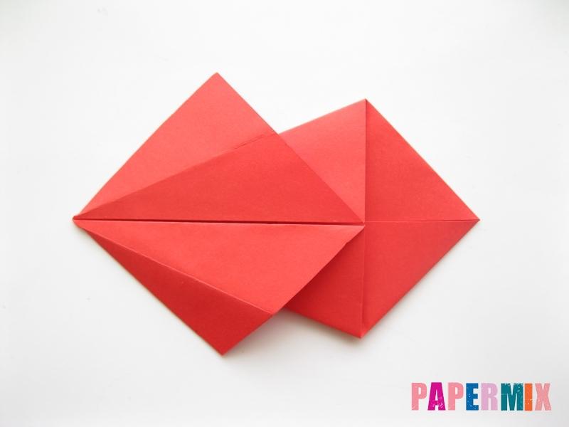 Как сделать рыбу из бумаги (оригами) инструкция - шаг 7