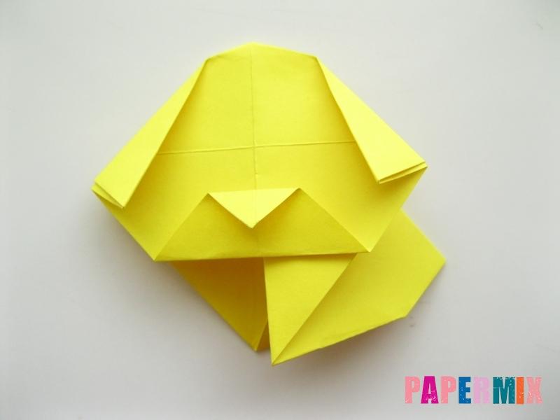 Как сделать щенка из бумаги поэтапно - шаг 11