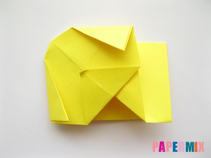 Как сделать щенка из бумаги поэтапно - шаг 8