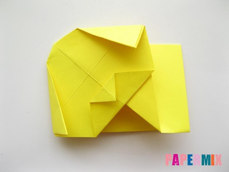 Как сделать щенка из бумаги поэтапно - шаг 9