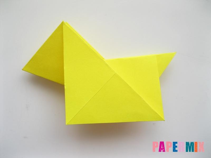 Как сделать собаку из бумаги пошаговая инструкция - шаг 10