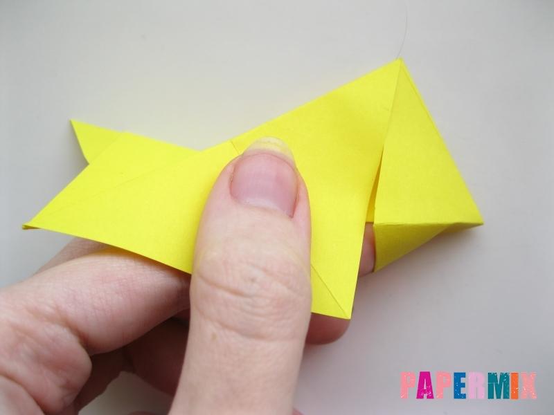 Как сделать собаку из бумаги пошаговая инструкция - шаг 11