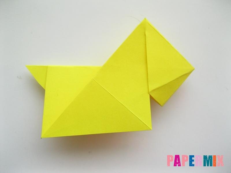 Как сделать собаку из бумаги пошаговая инструкция - шаг 12