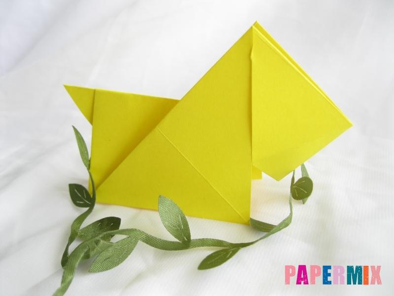 Как сделать собаку из бумаги пошаговая инструкция - шаг 14