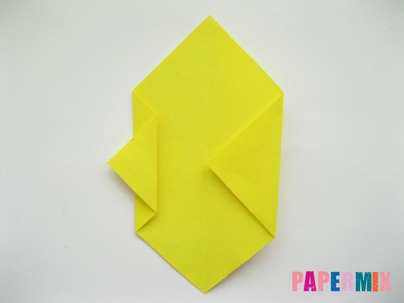 Как сделать собаку из бумаги пошаговая инструкция - шаг 3