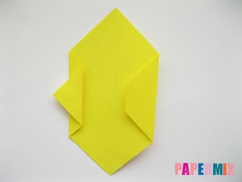 Как сделать собаку из бумаги пошаговая инструкция - шаг 4