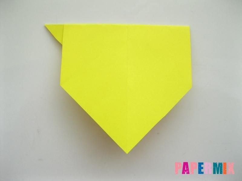 Как сделать собаку из бумаги пошаговая инструкция - шаг 5