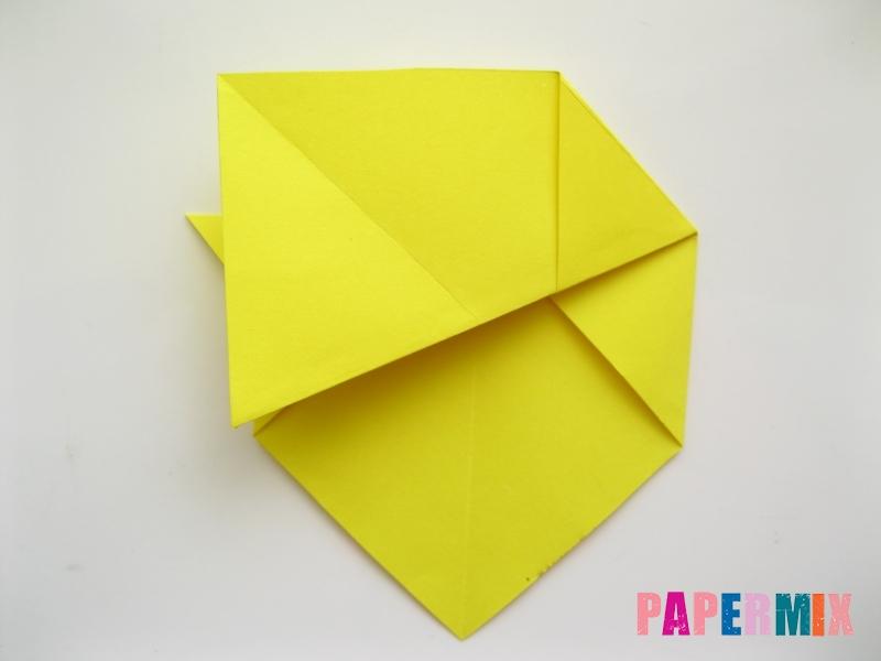 Как сделать собаку из бумаги пошаговая инструкция - шаг 6