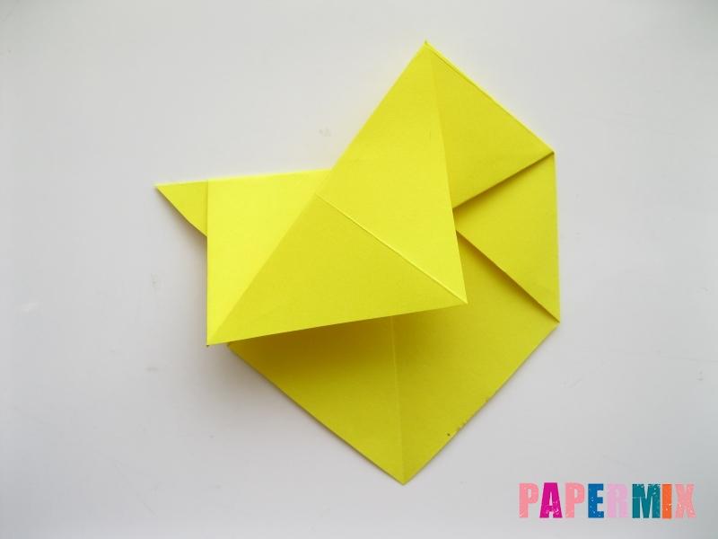 Как сделать собаку из бумаги пошаговая инструкция - шаг 7