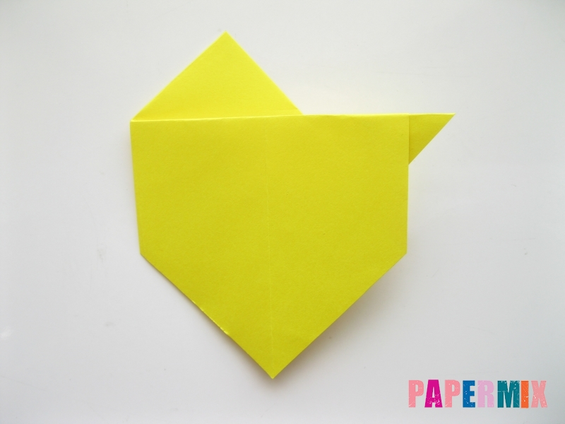 Как сделать собаку из бумаги пошаговая инструкция - шаг 8