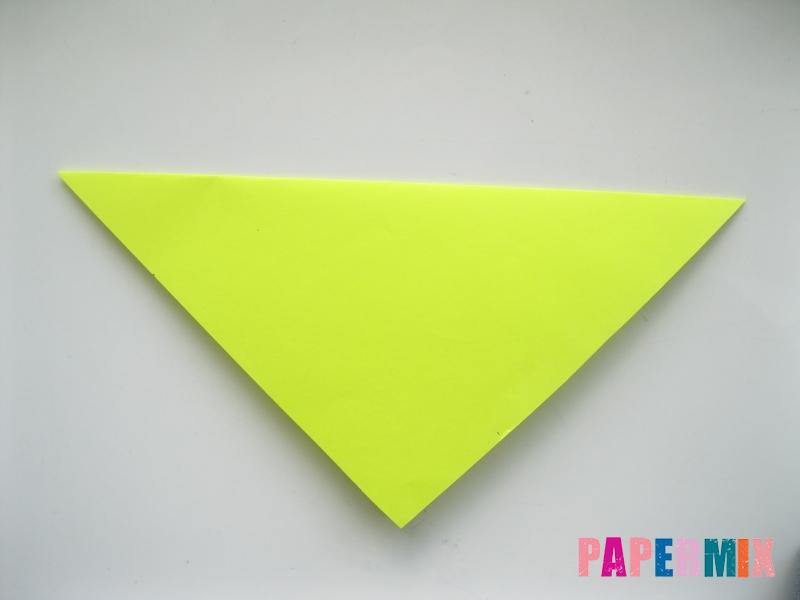 Как сделать верблюда из бумаги (оригами) поэтапно - шаг 1