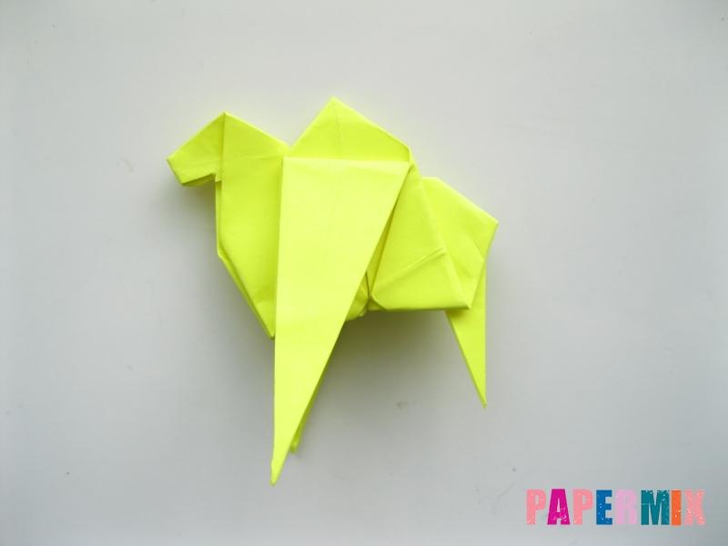 Как сделать верблюда из бумаги (оригами) поэтапно - шаг 17