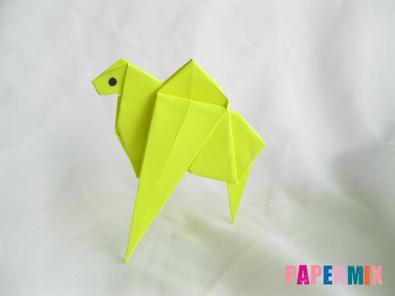 Как сделать верблюда из бумаги (оригами) поэтапно - шаг 19