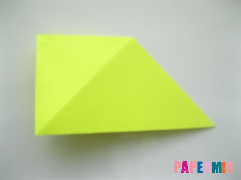 Как сделать верблюда из бумаги (оригами) поэтапно - шаг 6