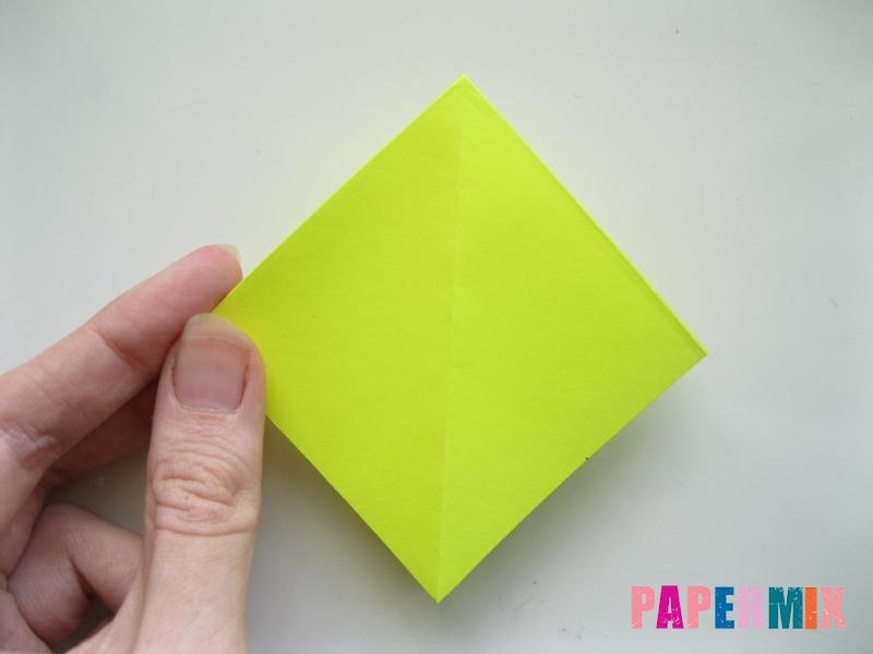Как сделать верблюда из бумаги (оригами) поэтапно - шаг 8