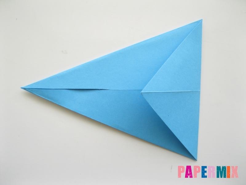 Как сделать зайца из бумаги поэтапно - шаг 3