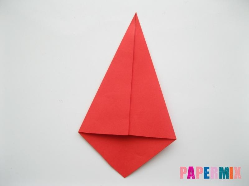 Как сделать жука из бумаги (оригами) инструкция - шаг 3