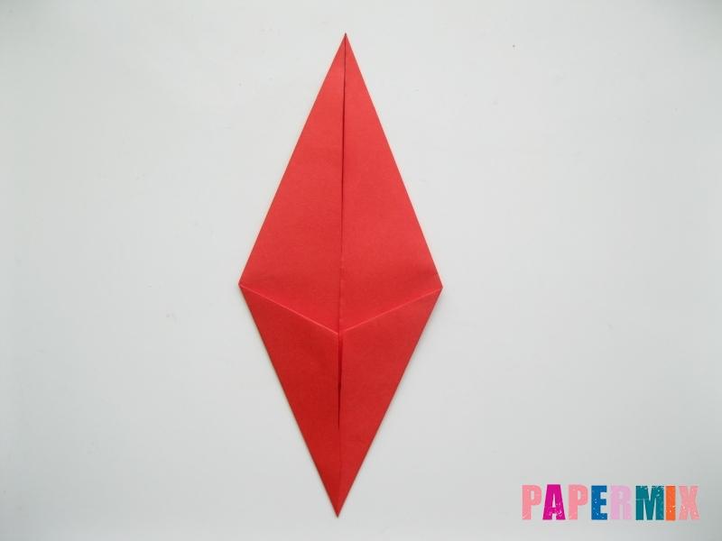 Как сделать жука из бумаги (оригами) инструкция - шаг 4