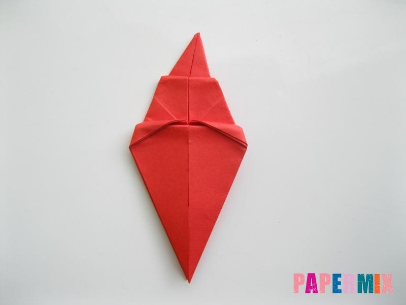 Как сделать жука из бумаги (оригами) инструкция - шаг 9