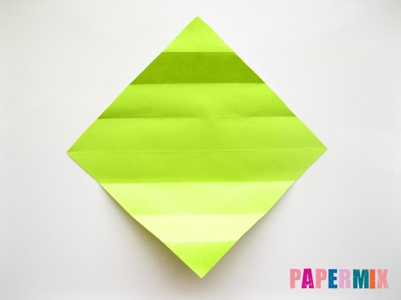 Как сделать змею из бумаги (оригами) поэтапно - шаг 4